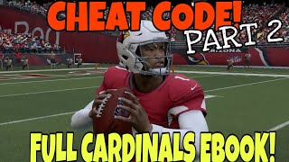 THIS OFFENSE IS A CHEAT CODE! Full Cardinals Playbook Part 2, FREE EBOOK. Madden 20 Tips & Tricks