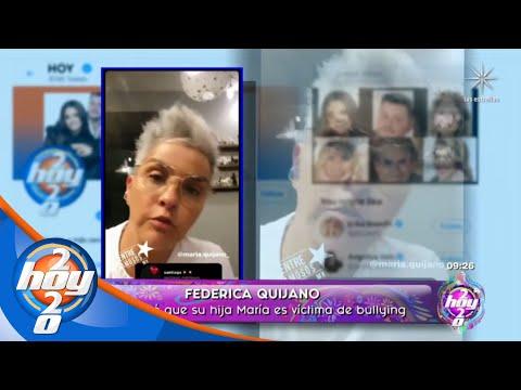 Federica Quijano denuncia que su hija es víctima de bullying | Las Calientitas | Hoy