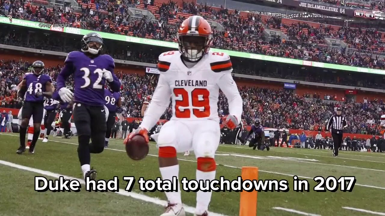 e9f096fed385 Duke Johnson Jr.  would rather play wideout  than running back for  Cleveland Browns