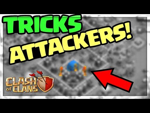 'SECRET' Base FOOLS ATTACKERS in Clash of Clans! Quest to 7000 #4