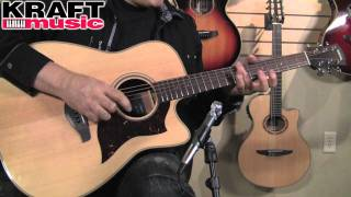 Kraft Music - Yamaha A1M Acoustic Electric Guitar Demo with Don Alder