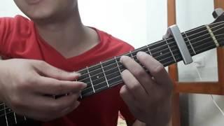 """Guitar solo """"Chênh vênh"""" - hướng dẫn intro, đệm hát - ST: Lê Cát Trọng Lý"""