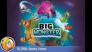 Big Monster — game preview at FIJ 2018 in Cannes