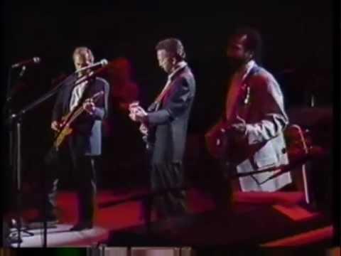 Eric Clapton & His Band (inc. MK & AC) - Concert Tokyo 1988