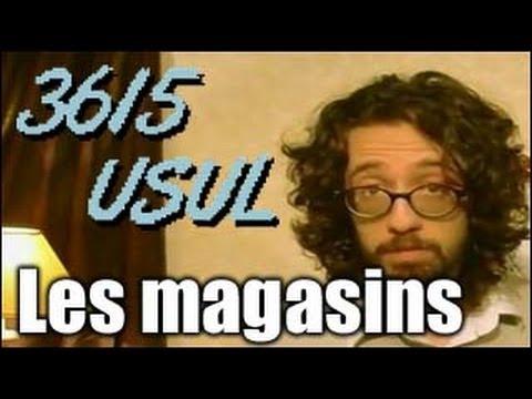 3615 Usul - Les magasins de jeux vidéo