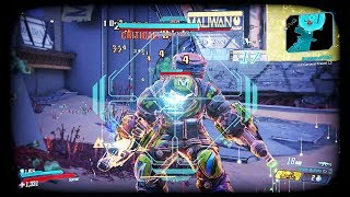 Borderlands 3 - General Traunt Boss Fight (Boss #17) - Solo