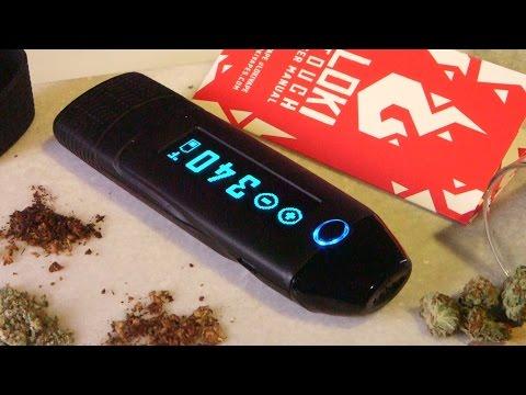 Loki Touch Screen Dry Herb Vaporizer for Marijuana: Blazin' Gear Review