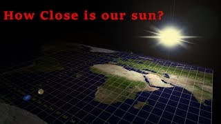 How close is the sun? You will be surprised  Flat Earth