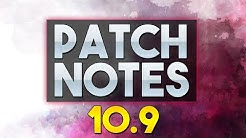 Romantisch angehauchte LoL Patch Notes 10.9