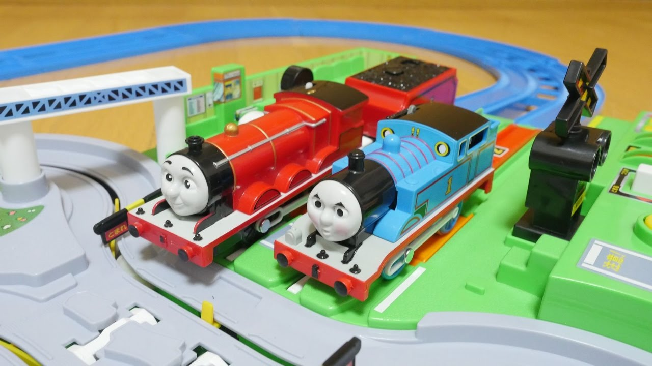 Puzzles & Geduldspiele DX Railroad Crossing Station Plarail Play with Tomica