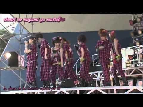 Otakebi boy WAO! sub español live mix Inazuma Eleven ed 4