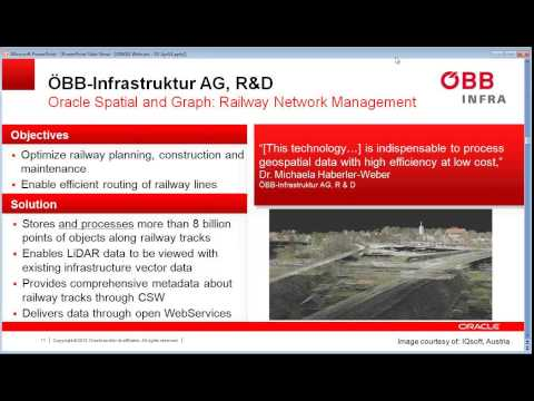 u_Lecture: Point Clouds, Solids and more ... managing 3D data in an Oracle Spatial database