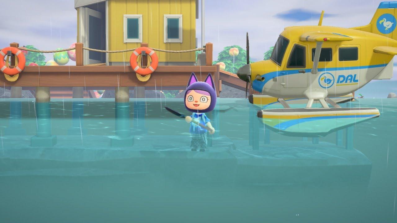 【集合啦!動物森友會】我被困在水裡了!?[Nyoma遊戲實況]
