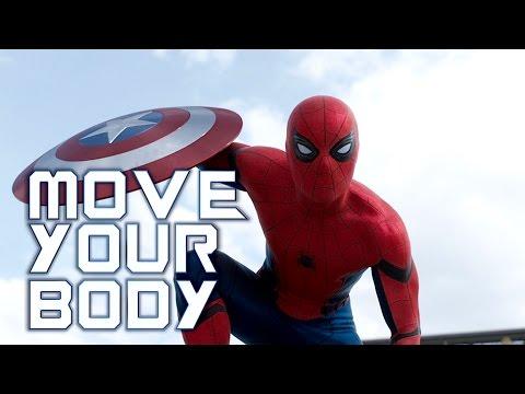 spiderman move your body sia fanvid youtube. Black Bedroom Furniture Sets. Home Design Ideas