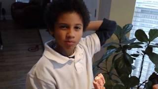 Little boy's reaction to a nasty worldstar hiphop video (see description)