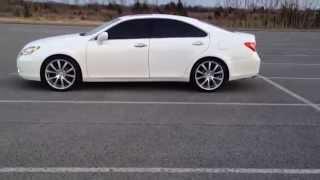 2007 lexus es 350 mrr hr10 wheels 20 inch wheels nashville tn