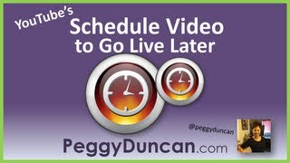 How to Schedule a Publish Date of YouTube Video to Go Live Later