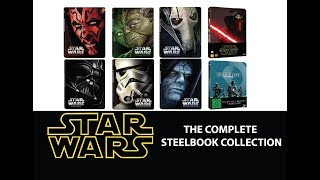Star Wars: Episodes I - VII & Rogue One Complete Steelbook Collection Blu-ray Review