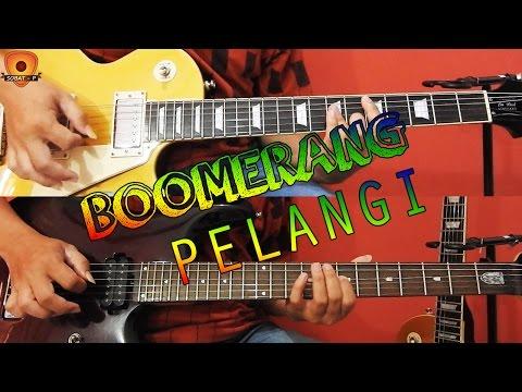 Tutorial Belajar Gitar Melodi Boomerang - Pelangi Bagian Tengahnya/Interlude/Solo By Sobat P