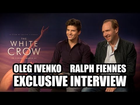 Ralph Fiennes And Oleg Ivenko Discuss THE WHITE CROW - Exclusive Interview
