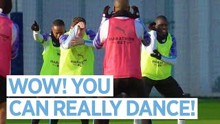 DANCING INTO THE NEW YEAR! | MAN CITY TRAINING