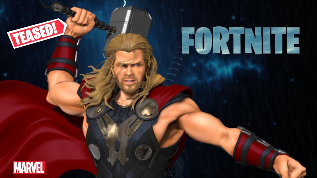 THOR SKIN *TEASED* BY FORTNITE - Potential Thor Skin coming to Fortnite - Avengers Set
