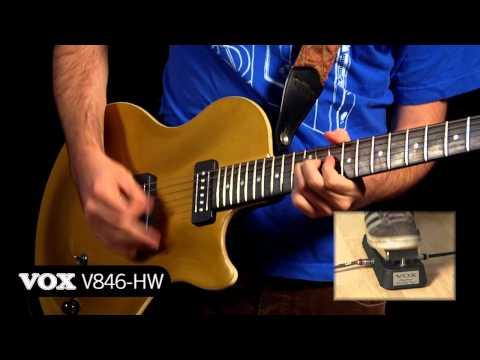 VOX Wah Wah Pedals Comparison/Demo - V845, V846-HW, V847a