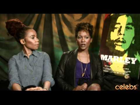 "Bob Marley's Daughters - Cedella & Karen Marley Talk ""Marley"" - a Celebs.com Original"