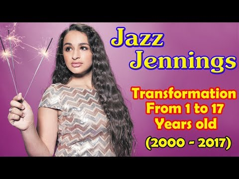 Jazz Jennings transformation from 1 to 17 years old from YouTube · Duration:  2 minutes 37 seconds