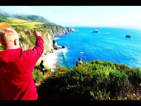 Driving the California Coast (Historic Highway 1 to Big Sur)