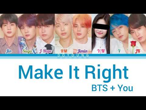 [BTS] - Make It Right (8 members version)