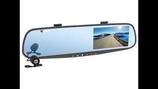 видео Видеорегистраторы в виде зеркала заднего вида. Характеристики, описание, отзывы