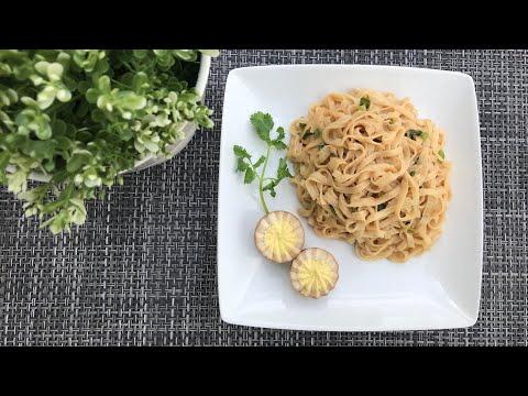 【福州拌面】the-perfect-peanut-butter-noodles-|-the-best-noodle-recipe-|-福州经典小吃-[-english-sub-&-中文字幕-]