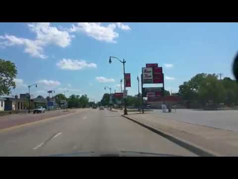 Drive through La Crosse, Wisconsin
