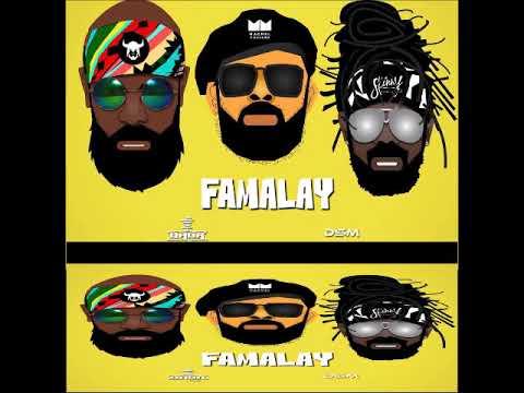 Machel Montano X  Skinny Fabulous X Bunji Garlin - Famalay (Soca 2019)