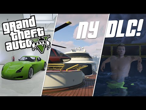 NY GTA DLC! Nya Bilar, Lyxbåtar mm - GTA 5 Executives and Other Criminals På Svenska