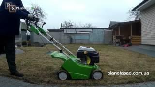Восстановление газона после зимы.Едем на участок