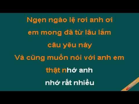 Em Rat Nho Anh Karaoke – Sơn Ca – CaoCuongPro
