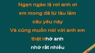 Em Rat Nho Anh Karaoke - Sơn Ca - CaoCuongPro