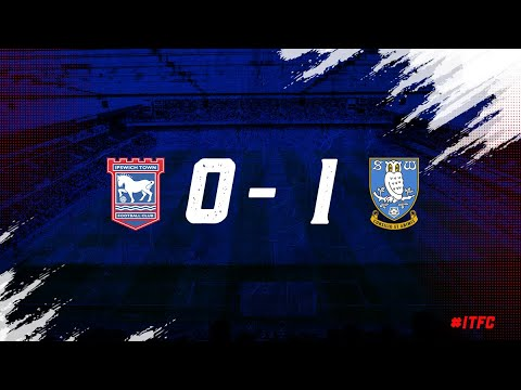 HIGHLIGHTS   Town 0 Sheffield Wednesday 1