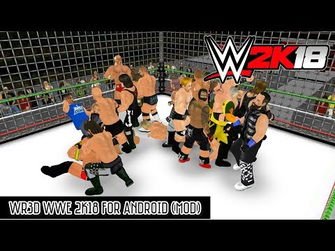WR3D WWE 2K18 For Android (Mod Apk)