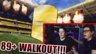 FIFA 17: OMG 89+ WALKOUT PACK OPENING (DEUTSCH) - FIFA 17: ULTIMATE TEAM - MIT BRUDER!