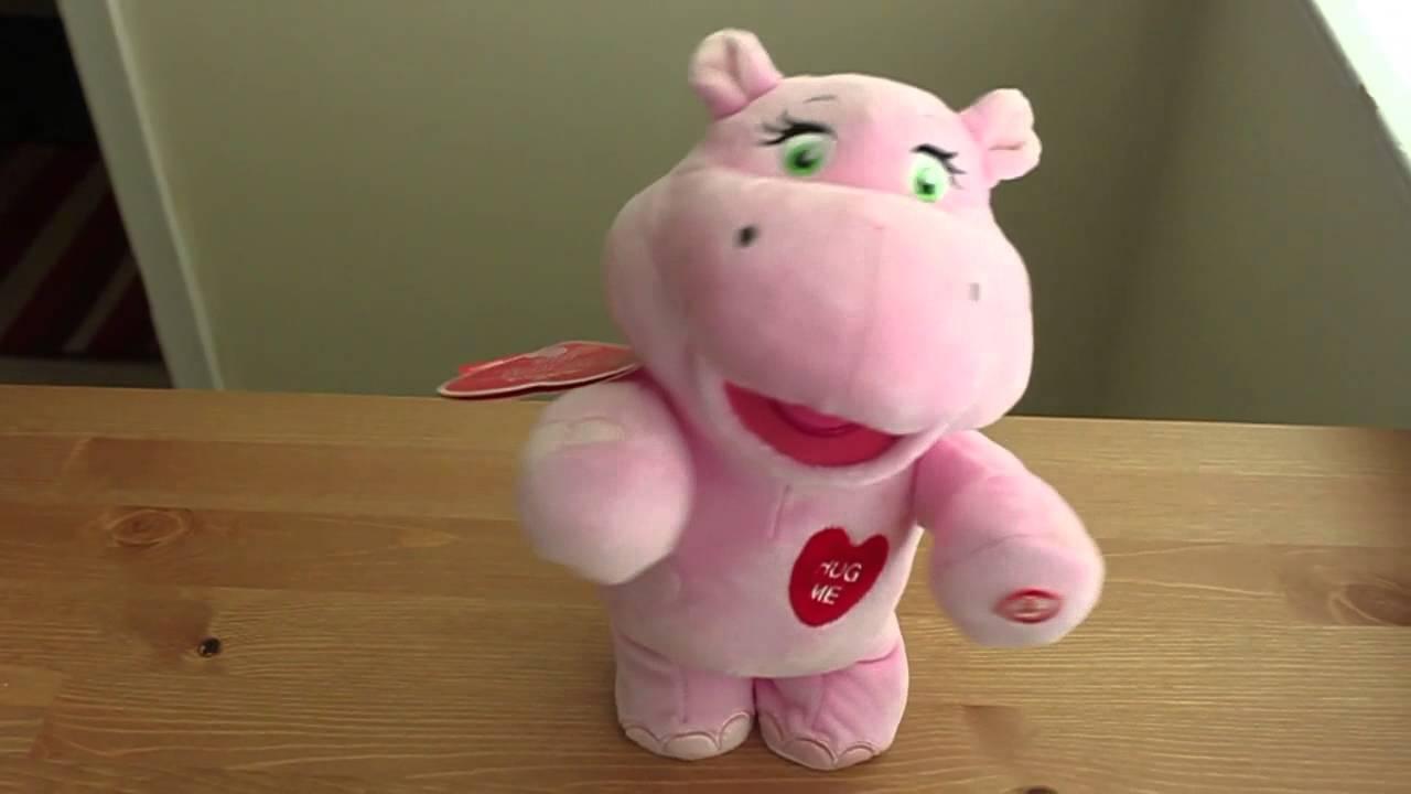 Hallmark Hug Lovin\' Hippo - YouTube