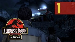 Jurassic Park: The Game - Episode 1: The Intruder [Walkthrough PC]