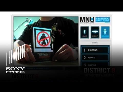 Watch the DISTRICT 9 Augmented Reality Demo