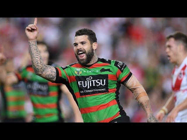 NRL Highlights: South Sydney Rabbitohs v St George Illawarra Dragons - Finals Week 2
