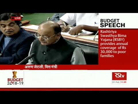 Union Budget 2018-19 | FM on Health sector