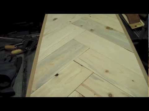 how to build cheap free coffee table from pallets diy - youtube