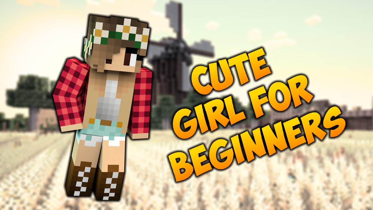 How To Make A Minecraft Girl Skin For Beginners Plaid Shirt Tutorial Youtube