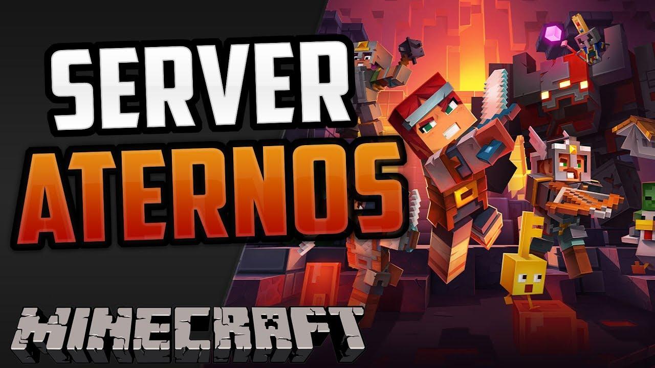 Cómo crear un servidor de Minecraft en ATERNOS (2020 ...